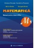 Matematica Manual pentru clasa XII