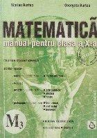 Matematica. Manual pentru clasa a X-a - M3