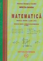 Matematica - Manual pentru clasa a XI-a (Trunchi comun si curriculum diferentiat, 4 ore)