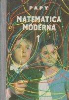Matematica moderna, Volumul I
