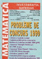 Matematica - Probleme de concurs 1999