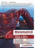 Matematica. Probleme si exercitii, teste. Clasa a XII-a (avizat MEN 2018)