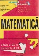 Matematica, Semestrul II, Clasa a VI-a