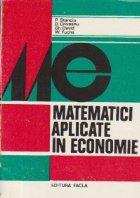 Matematici aplicate in economie, Volumul I