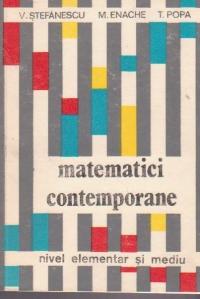Matematici contemporane - Nivel elementar si mediu