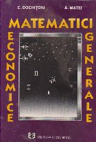 Matematici economice generale
