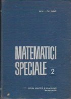 Matematici speciale, Volumul al II-lea (Sabac)