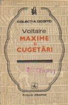 Maxime si Cugetari - Voltaire