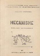 Mecanisme - Analiza matriceala