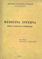 Medicina interna - Bolile aparatului respirator