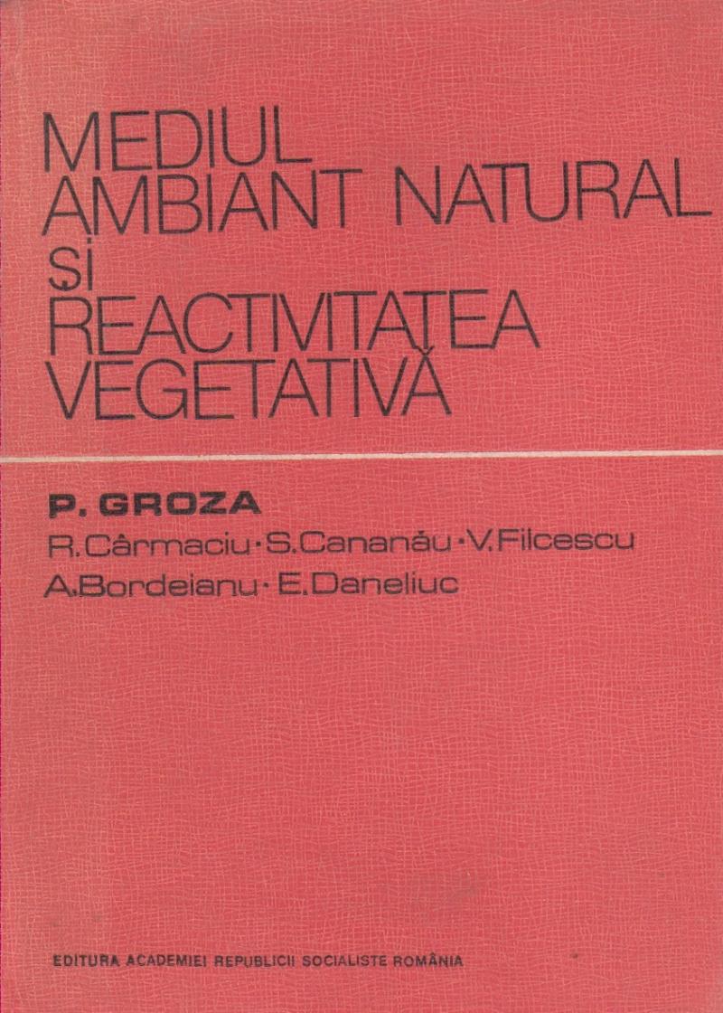 Mediul ambiant natural si reactivitatea vegetativa