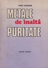 Metale de inalta puritate