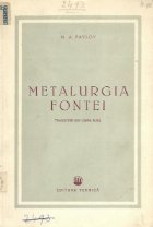 Metalurgia fontei (traducere din limba rusa)