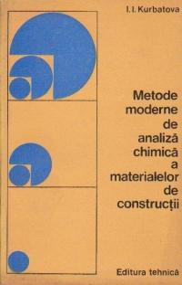 Metode moderne de analiza chimica a materialelor de constructii