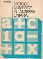 Metode numerice in algebra liniara