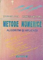 Metode numerice - Algoritmi si aplicatii