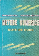 Metode numerice - Note de curs