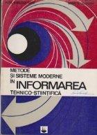 Metode sisteme moderne informarea tehnico