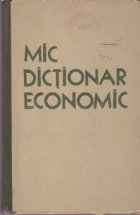 Mic dictionar economic