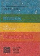 Mic dictionar roman-sirbocroat