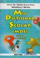 Mic dictionar scolar (MDS) pentru