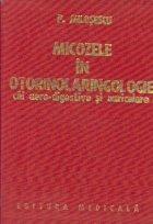 Micozele in otorinolaringologie - cai aero-digestive si auriculare