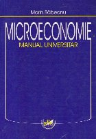 Microeconomie - Manual universitar (M. Babeanu)