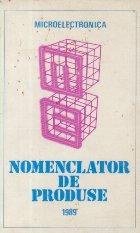 Microelectronica - Nomenclator de produse 1989