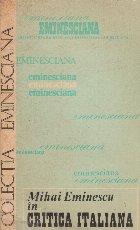 Mihai Eminescu in critica italiana