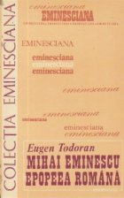 Mihai Eminescu. Epopeea romana
