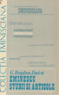 Mihai Eminescu - Studii si articole
