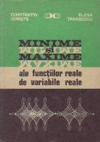 Minime si maxime ale functiilor reale de variabile reale