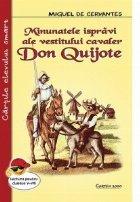 Minunatele ispravi ale cavalerului Don Quijote