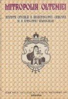 Mitropolia Olteniei Revista oficiala Arhiepiscopiei