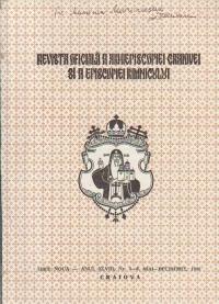 Mitropolia Olteniei - Revista oficiala a Arhiepiscopiei Craiovei si Episcopiei Rimnicului, Nr. 3-6, Mai-Decembrie/1996