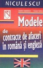 Modele contracte afaceri romana engleza