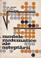 Modele matematice ale asteptarii