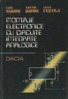 Montaje electronice cu circuite integrate analogice