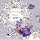 Motive florale. Carte de colorat pentru adulti