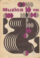 Muzica - Manual pentru clasa a VIII-a