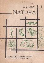 Natura, Nr. 1/1972