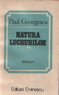 Natura lucrurilor - Roman