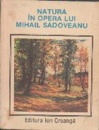 Natura in opera lui Mihail Sadoveanu