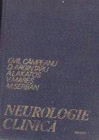 Neurologie clinica, Volumul I