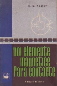 Noi elemente magnetice fara contacte (traducere din limba rusa)