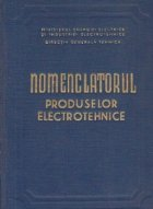 Nomenclatorul produselor electrotehnice