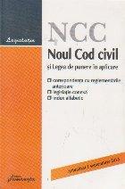 Noul Cod civil Legea punere