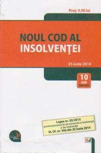 Noul cod al insolventei (25 iunie 2014)