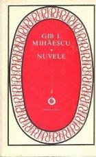 Nuvele - Gib I. Mihaescu