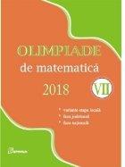Olimpiade de matematica 2018 (clasa a VII-a). Variante etapa locala. Faza judeteana. Faza nationala